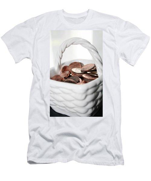 A Basket Of Pennies Men's T-Shirt (Athletic Fit)