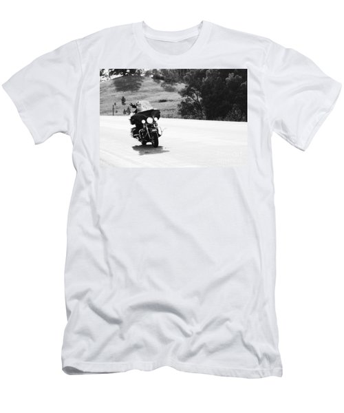 A Peaceful Ride Men's T-Shirt (Athletic Fit)