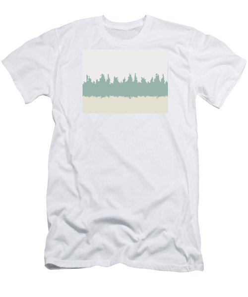 Men's T-Shirt (Slim Fit) featuring the digital art Above And Below by Jeff Iverson