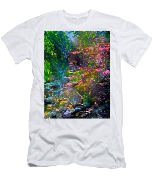 Abstract 86 Men's T-Shirt (Slim Fit) by Pamela Cooper