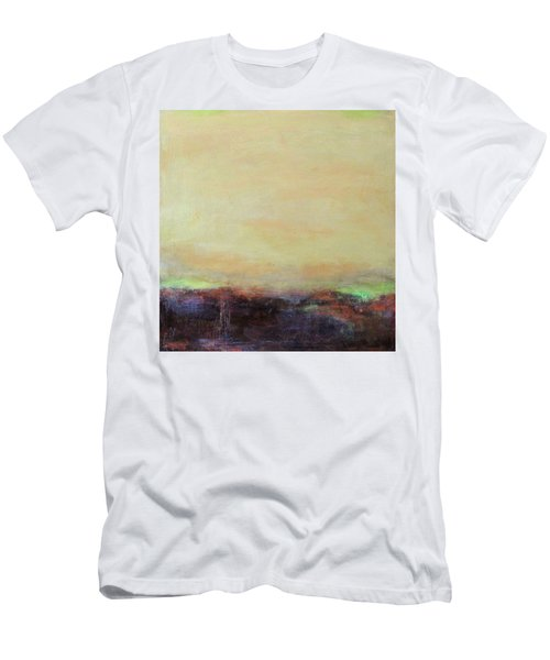 Abstract Landscape - Rose Hills Men's T-Shirt (Athletic Fit)