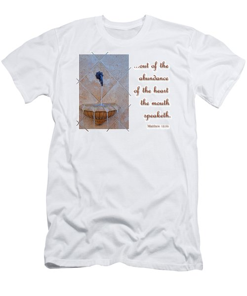 Men's T-Shirt (Slim Fit) featuring the photograph Abundance Of The Heart by Larry Bishop