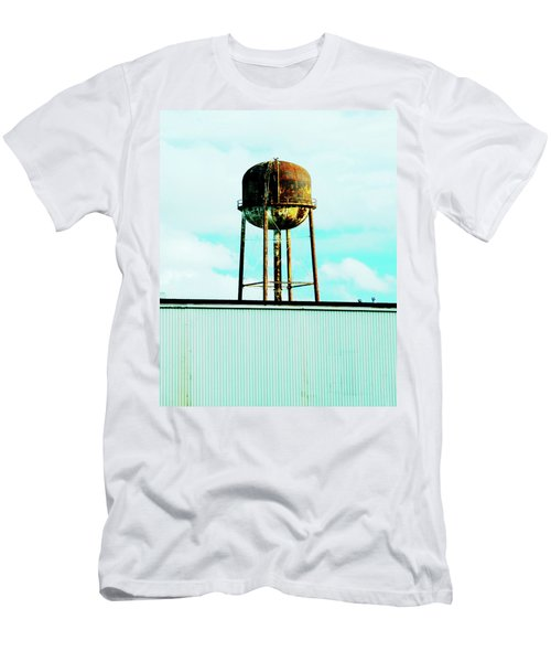 Men's T-Shirt (Slim Fit) featuring the photograph Along Highway 61 by Lizi Beard-Ward