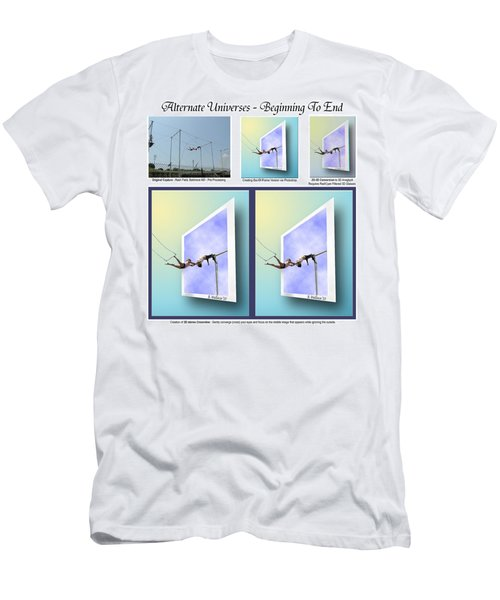 Alternate Universes - Beginning To End Men's T-Shirt (Athletic Fit)