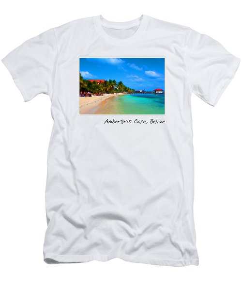 Ambergris Caye Belize Men's T-Shirt (Athletic Fit)