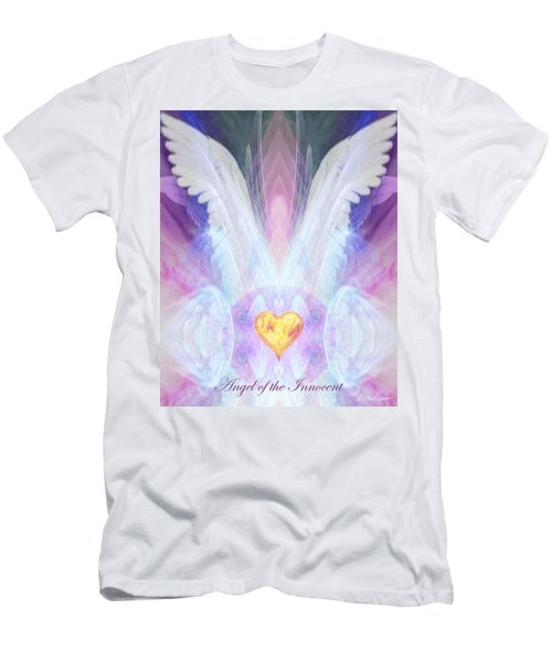 Angel Of The Innocent Men's T-Shirt (Athletic Fit)