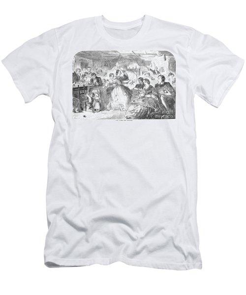 Apple Bee, 1859 Men's T-Shirt (Athletic Fit)