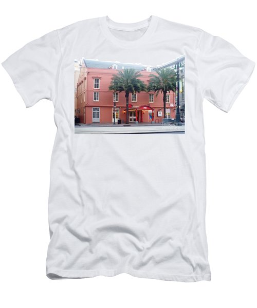 Men's T-Shirt (Slim Fit) featuring the photograph Arby's At Dawn by Alys Caviness-Gober