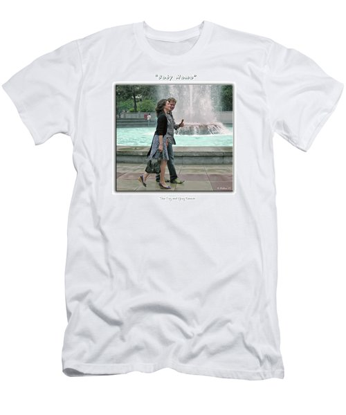 Baby Mama - Tina Fey And Greg Kinnear Men's T-Shirt (Athletic Fit)