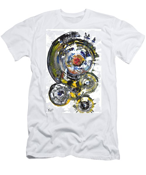 Black And White Shines Brightly  843.120911 Men's T-Shirt (Slim Fit) by Kris Haas