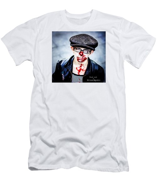 Men's T-Shirt (Athletic Fit) featuring the photograph Bloody Youth by Stwayne Keubrick