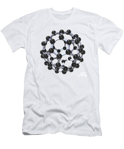 Buckminsterfullerene Or Buckyball C60 18 Men's T-Shirt (Athletic Fit)