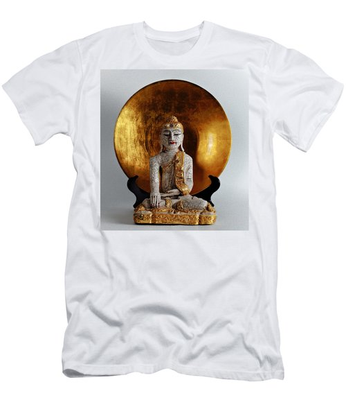 Buddha Girl Men's T-Shirt (Athletic Fit)