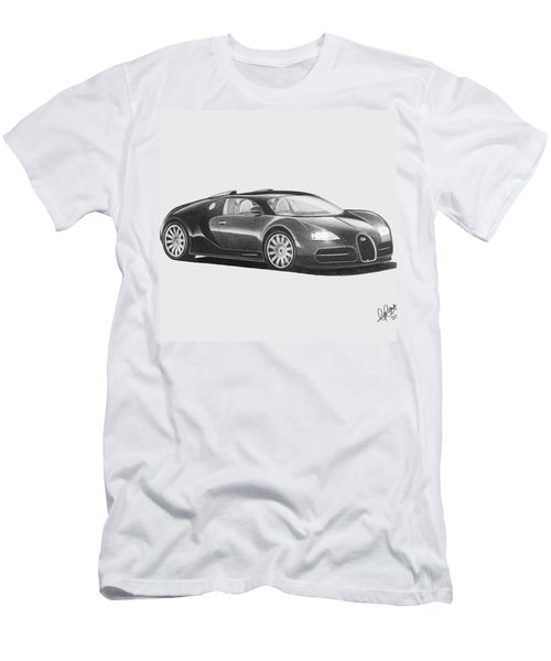 Bugatti Veyron Eb Men's T-Shirt (Athletic Fit)