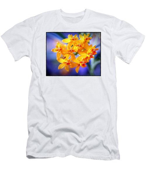 Men's T-Shirt (Slim Fit) featuring the photograph Butterfly Weed by Judi Bagwell