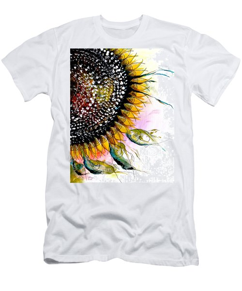 California Sunflower Men's T-Shirt (Athletic Fit)