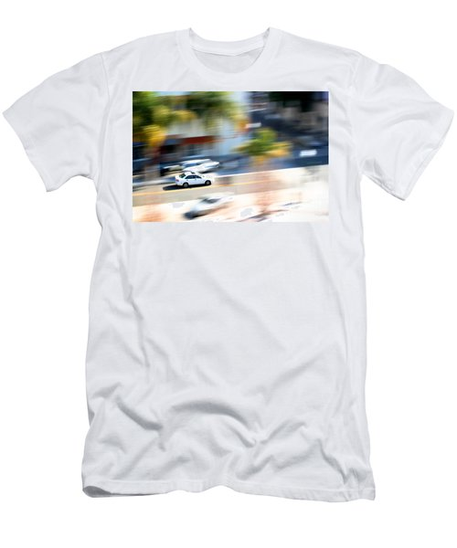 Car In Motion Men's T-Shirt (Athletic Fit)