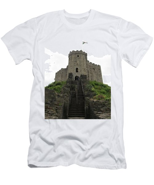 Cardiff Castle Men's T-Shirt (Athletic Fit)