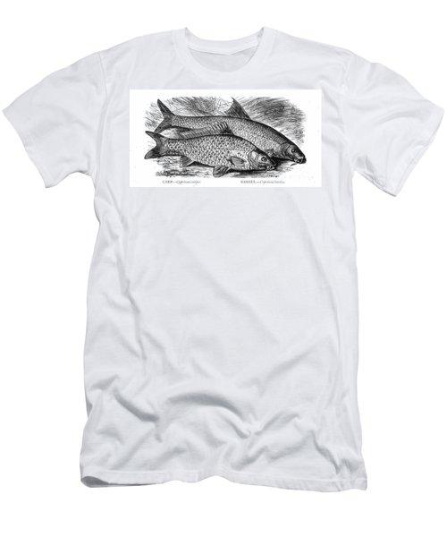 Carp And Barbel Fish Men's T-Shirt (Athletic Fit)
