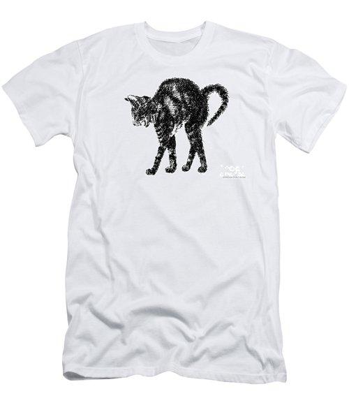 Cat-artwork-prints-2 Men's T-Shirt (Athletic Fit)