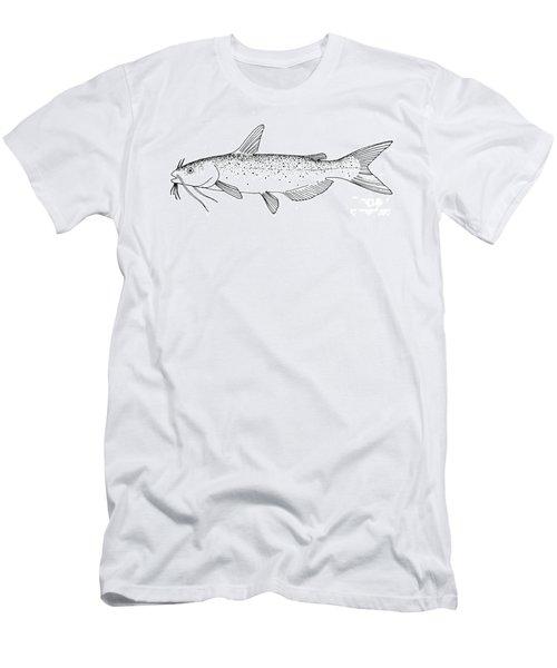 Channel Catfish Men's T-Shirt (Athletic Fit)