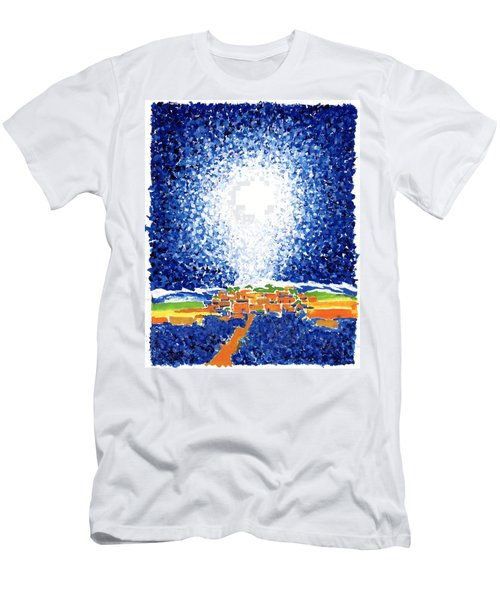 Christmas Star Men's T-Shirt (Athletic Fit)