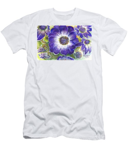 Cineraria Of South Africa  Men's T-Shirt (Athletic Fit)