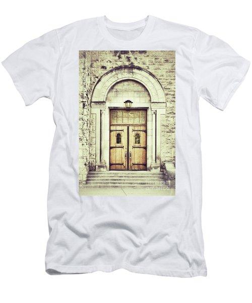 Collegiate Men's T-Shirt (Athletic Fit)