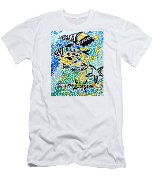 Comotion In The Ocean Men's T-Shirt (Athletic Fit)