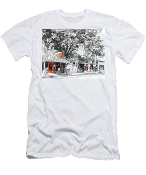 Cooper Young Places Men's T-Shirt (Athletic Fit)
