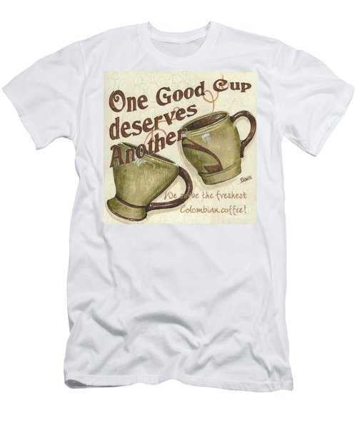Cream Coffee 2 Men's T-Shirt (Athletic Fit)