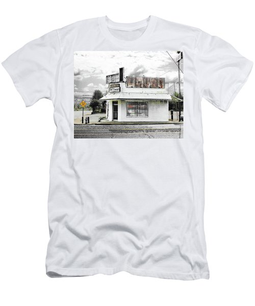 Men's T-Shirt (Slim Fit) featuring the photograph Dead End by Lizi Beard-Ward
