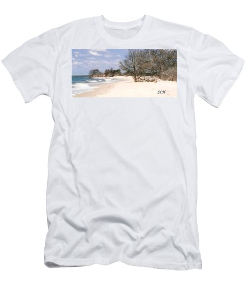 Deserted Island Men's T-Shirt (Athletic Fit)
