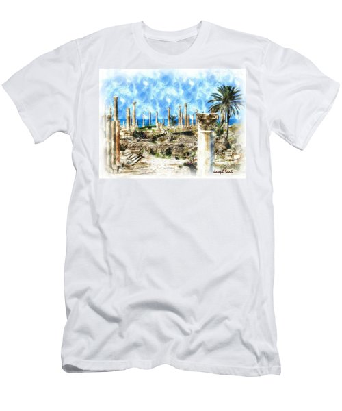 Do-00550 Ruins And Columns Men's T-Shirt (Athletic Fit)