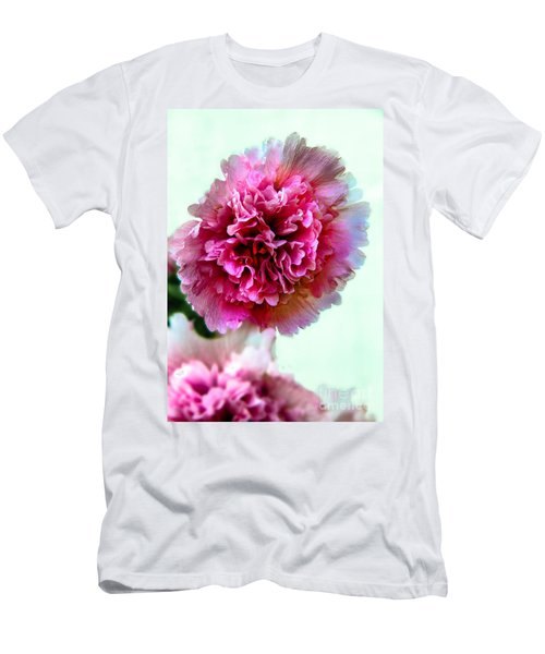 Double Hollyhock Men's T-Shirt (Athletic Fit)