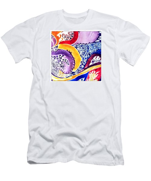 Dreaming In Watercolors Men's T-Shirt (Athletic Fit)