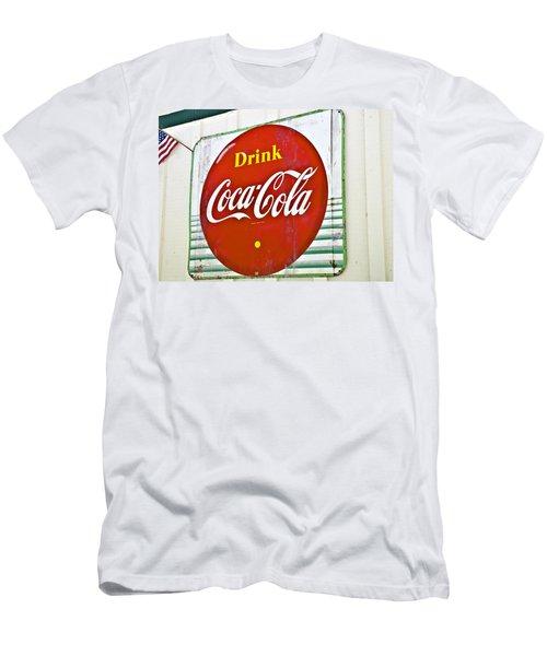 Drink Coca Cola Men's T-Shirt (Athletic Fit)