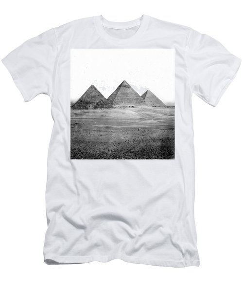 Egyptian Pyramids - C 1901 Men's T-Shirt (Slim Fit) by International  Images