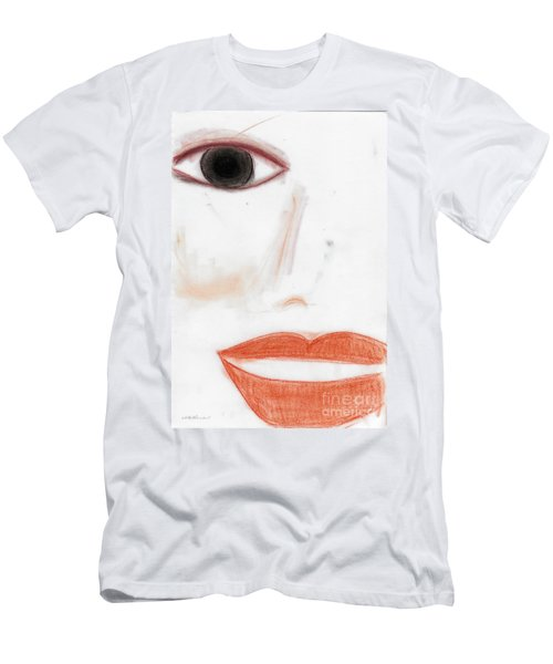 Men's T-Shirt (Slim Fit) featuring the photograph Face by Vicki Ferrari