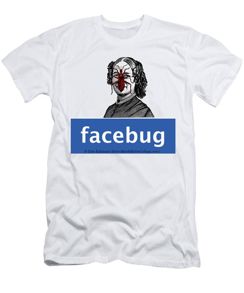 Facebug For Women Men's T-Shirt (Slim Fit)