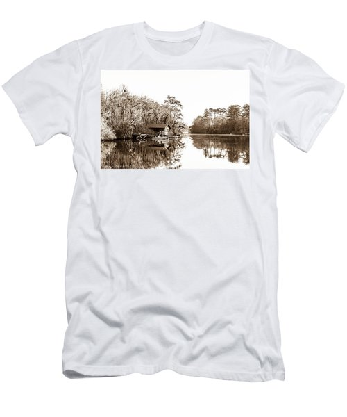 Men's T-Shirt (Slim Fit) featuring the photograph Florida by Shannon Harrington