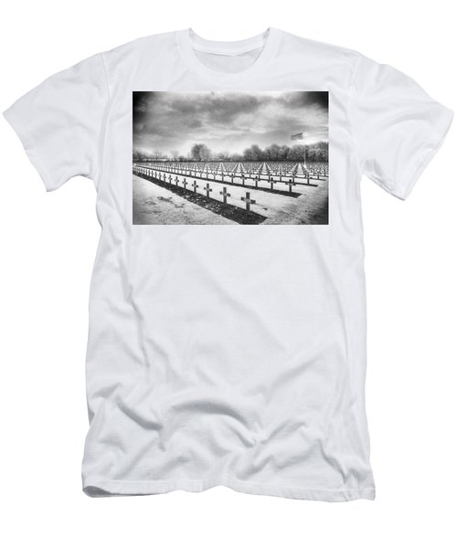 French Cemetery Men's T-Shirt (Athletic Fit)