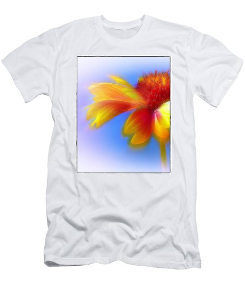 Fresh As A Daisy Men's T-Shirt (Slim Fit) by Judi Bagwell