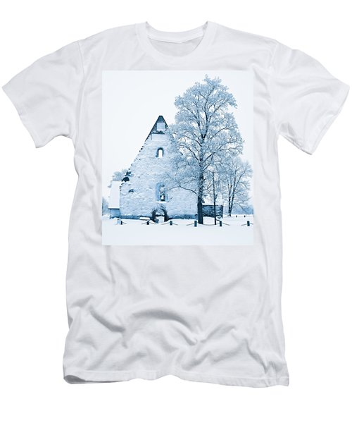 Frosty Ruins Men's T-Shirt (Athletic Fit)