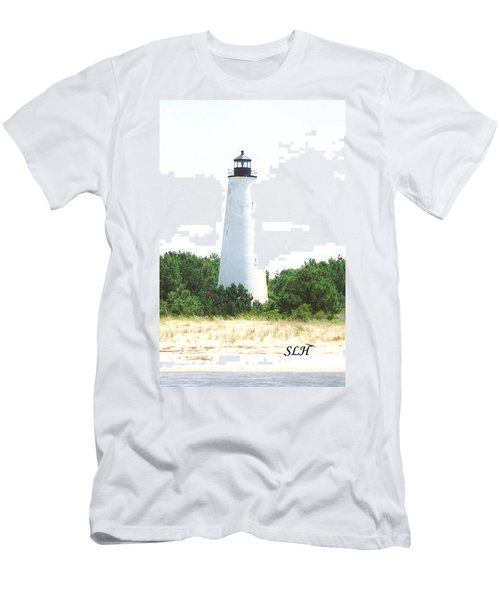 George Town Lighthouse Men's T-Shirt (Athletic Fit)