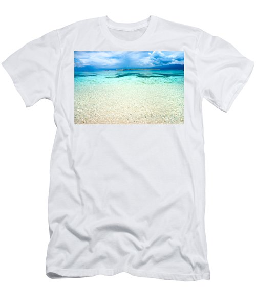 Men's T-Shirt (Slim Fit) featuring the photograph Gili Meno - Indonesia. by Luciano Mortula