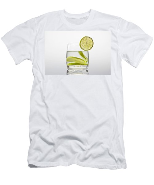 Glass With Lemonade Men's T-Shirt (Athletic Fit)