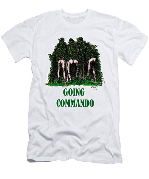 Going Commando Men's T-Shirt (Athletic Fit)