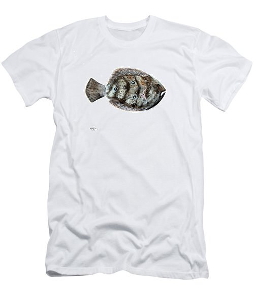 Gulf Flounder Men's T-Shirt (Athletic Fit)