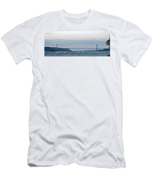 Gwb Sunset Men's T-Shirt (Athletic Fit)